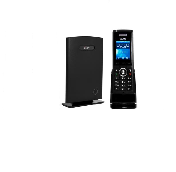 i-Serve 8630/1 - Base Station + 1 handset + POE injector (VOIP)