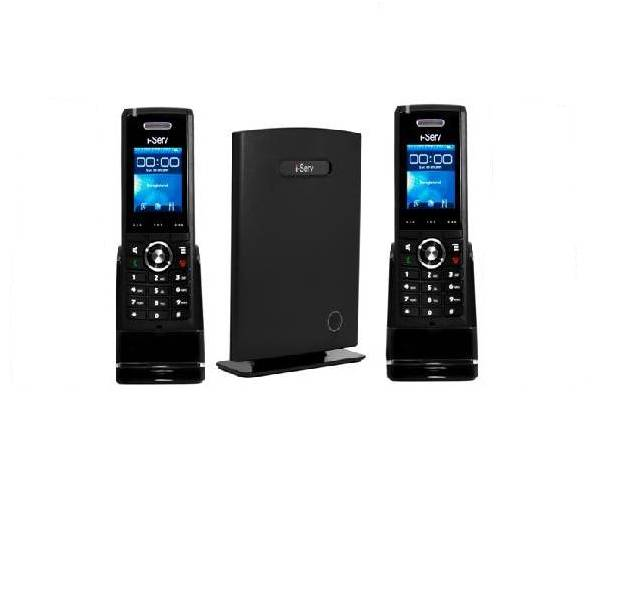 i-Serve 8630/2 - base station + 2 handsets + POE injector (VOIP)